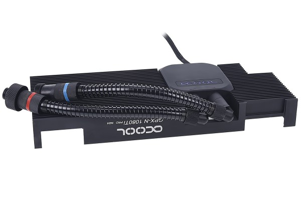 Alphacool Eiswolf GPX Pro - Nvidia Geforce GTX 1080Ti Pro M24 - incl. backplate