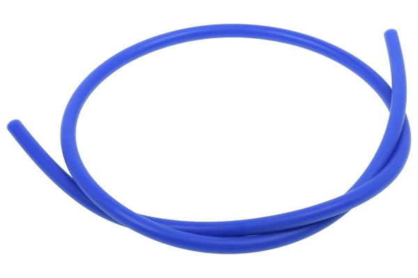 """Alphacool Silicon Bending Insert 100cm for ID 3/8"""" / 10mm hard tubes - blue"""