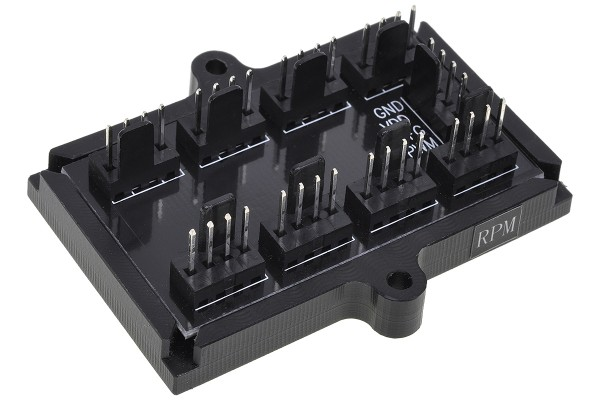Phobya 4Pin PWM to 8x 4Pin Fan Splitter PCB