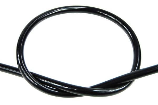 "Masterkleer tubing PVC 13/10mm (3/8""ID) UV-active black"