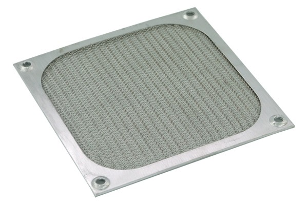 air filter 120mm color silver