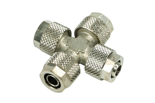 8/6mm (6x1mm) X tubing connector