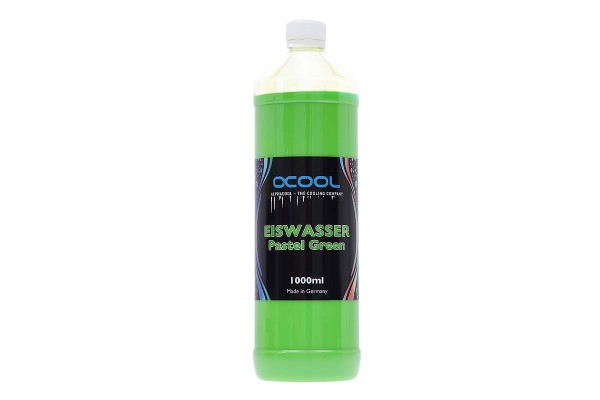 Alphacool Eiswasser Pastel Green premixed coolant 1000ml
