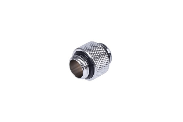 Alphacool HF double nipple G1/4 outer thread to G1/4 outer thread 10mm - Chrome
