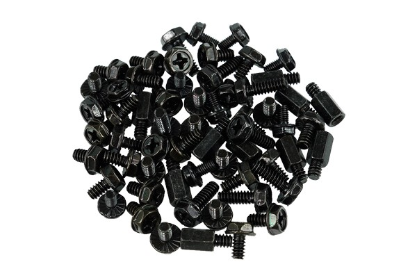 Mainboard screw kit Black Edition